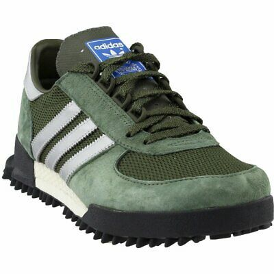 adidas Marathon Trainer Trail Running Shoes – Green – Mens