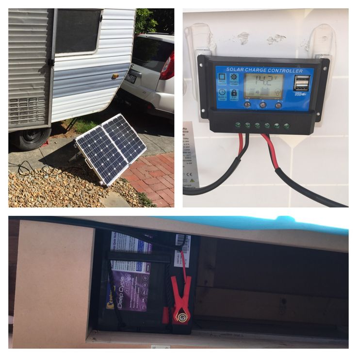 We are solar! Perfect for getting away from caravan sites