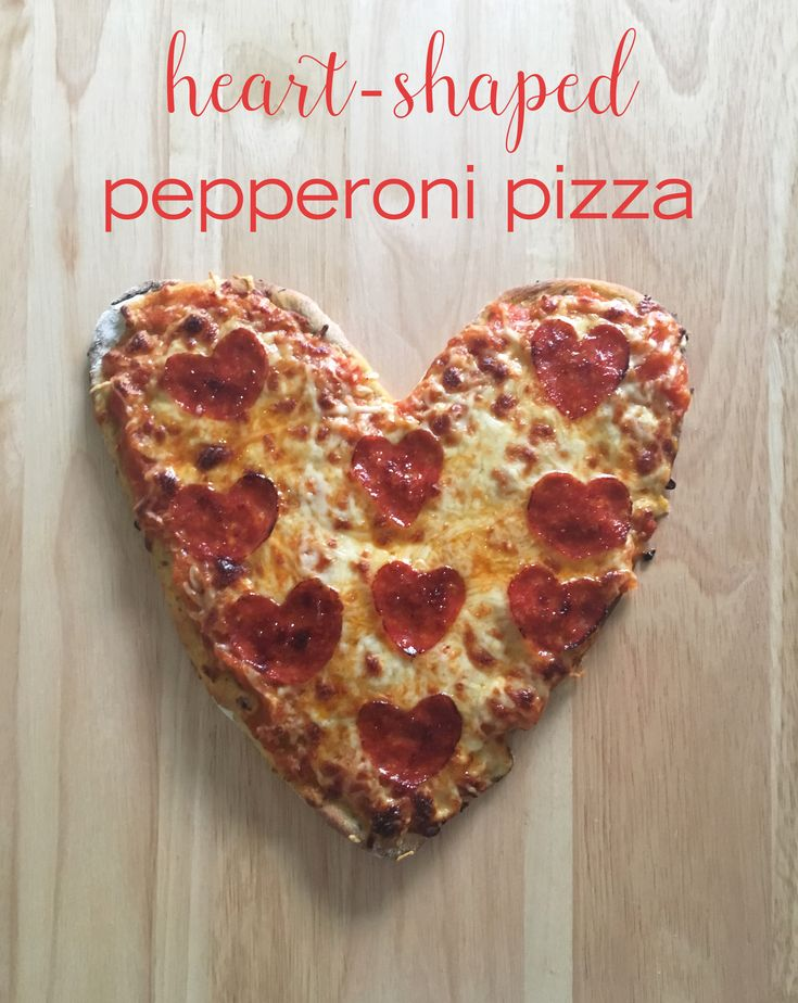 Who said pizza wasn't a romantic food? Certainly not us. And we can't imagine a better date food than this delicious heart-shaped pizza (with pepperoni hearts to boot). Try out this recipe for your next at-home date.