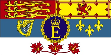 The Queen's Personal Flag in Canada