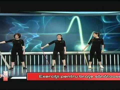 Sport cu banda elastica - Fiziolife Medica - www.fiziolife.ro - YouTube