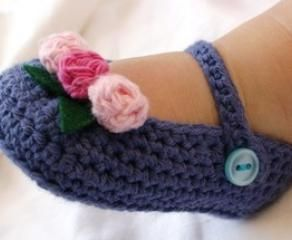 Escarpines a Crochet