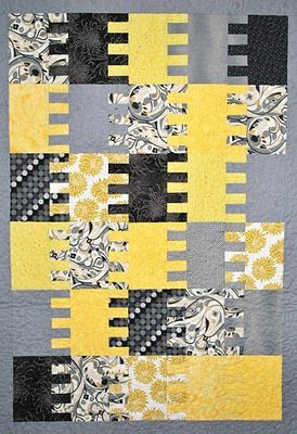 Quiltworks by Sue Pedersen, another 'Following Directions' quilt