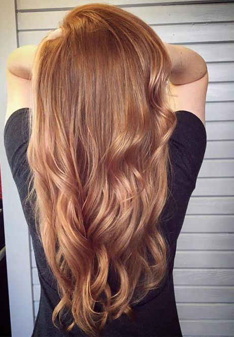 Rose Gold Hair Color Trends for this Season