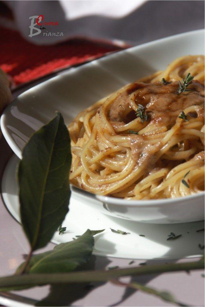 SPAGHETTI al farro con sugo di arrosto | cuoca nella brianza