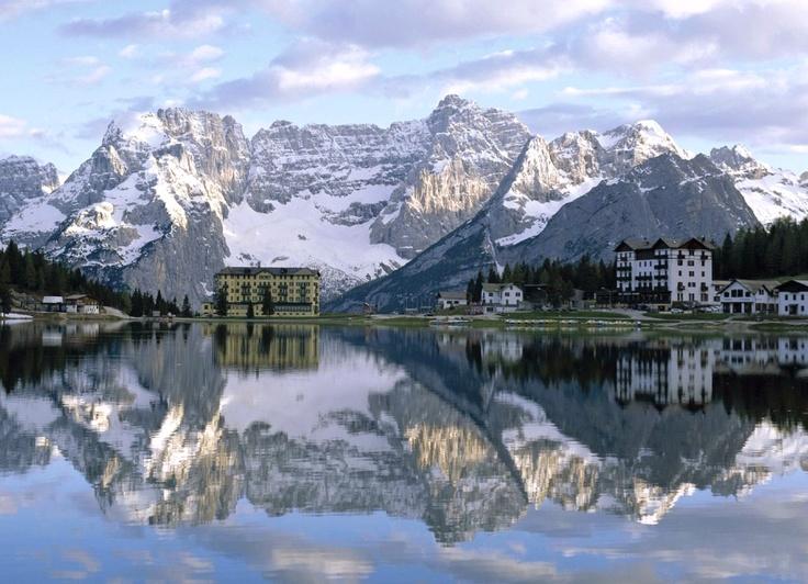 Lake Misurina, Dolomites, Italian Alps