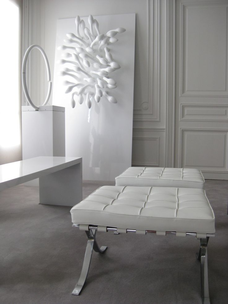 NP apartment in Paris, classical structure with contemporary furniture _