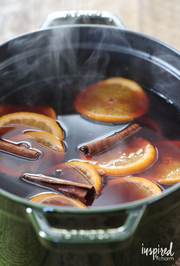 Mulled Wine | inspiredbycharm.com