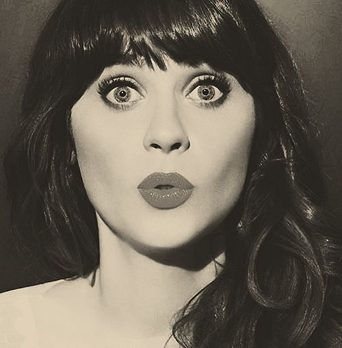 Forever adorable.: Magnific Eye, Zooeydeschanel