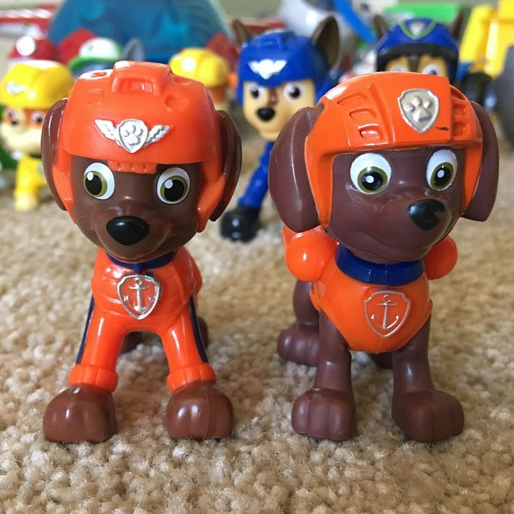 I love the whole paw patrol toy collection.  They are unique and so cool.  Paw Patrol Zuma Toys