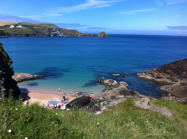 Mother Ivey's Bay, Cornwall, UK. Great Family Campsite! #Holidays