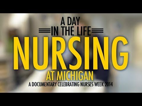 In Celebration of 2014 Nurses Week --this video highlights a day in the life of nurses at University of Michigan Health System
