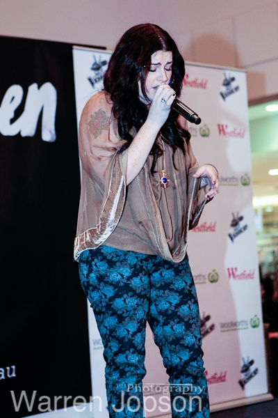 Karise Eden from Voice