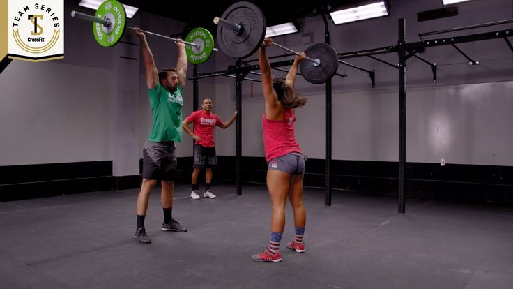 CrossFit Team Series 2015: Event 4 Demo