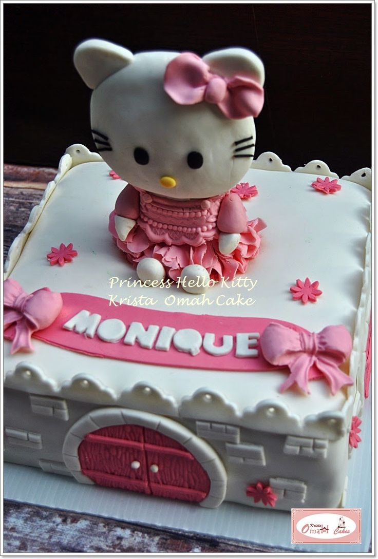 KRISTA MOCAF KITCHEN: Princess Hello Kitty - Birthday Cake