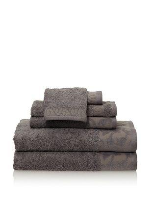 Espalma 6-Piece Valuta Bath Towel Set (Silver)
