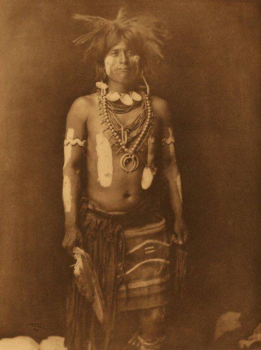 HOPI MAN , 1900