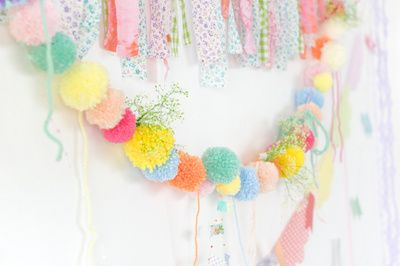 Creative: Eleven cute party ideas  (Cute party streamer alternatives: Inside Out. Via Homelife.)
