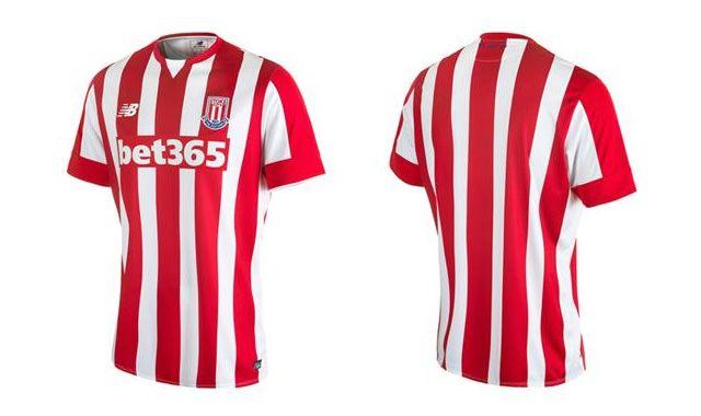 Stoke City - New Balance 15-16 | Home