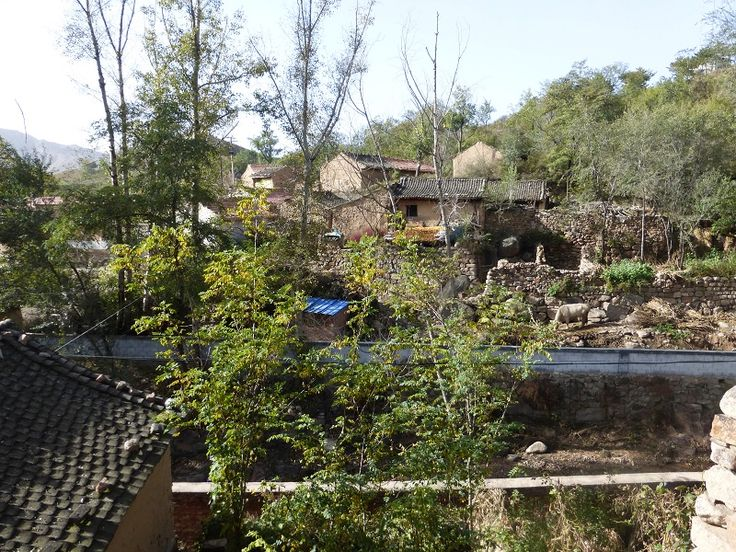 Yangjiazhuang Village, Lingqiu County, Shanxi Province, China, in the Taihang Shan (Mountains)