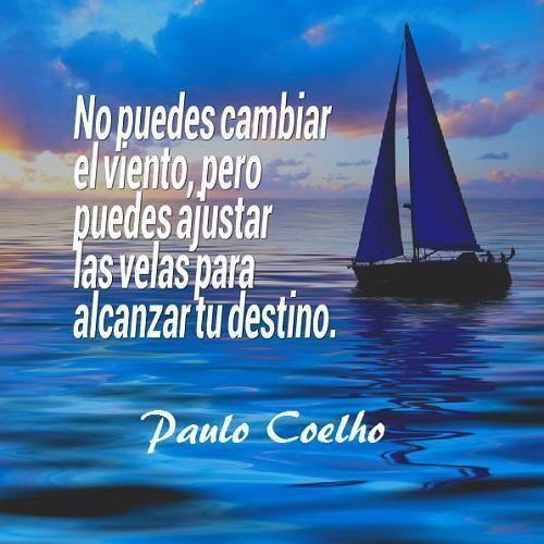 Tú eres tu destino. Ve a por él.  - vía www.instagram.com/ComunidadCoelho | Comunidad Coelho: tu punto de encuentro con los fans de Paulo Coelho
