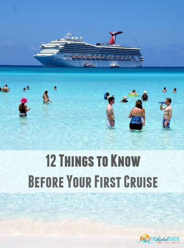 12 Things to Know Before Your First Cruise - a simple guide to some of the most commonly asked questions about Caribbean cruising! {carnivalpartner, ad}
