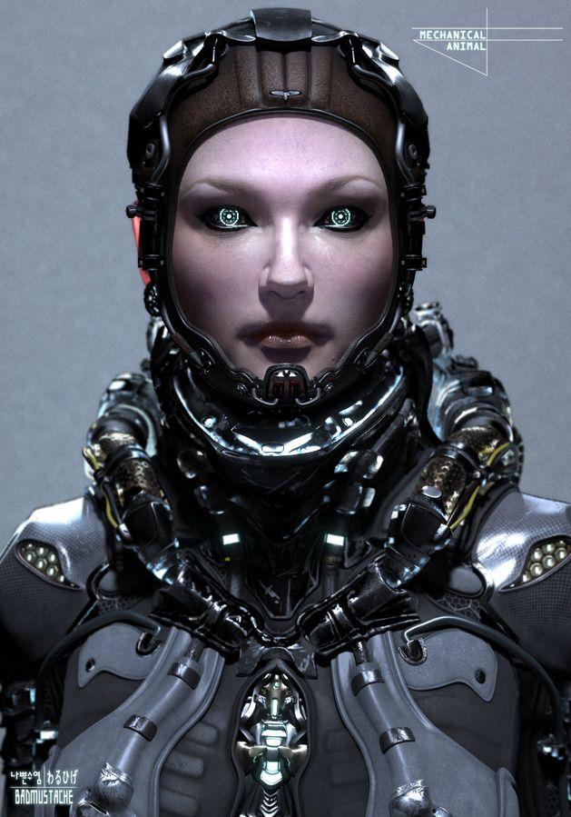 """Mechanical Animal"" by BadMustache (@Rachel Keen Native.com 35337)"