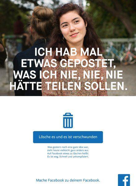 #Imageprobleme in Deutschland -  #Facebook startet millionenschwere Werbekampagne