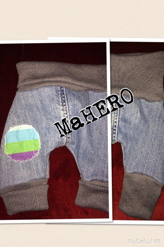 Baby   harems pants JEANS by MaHEROsydney on Etsy