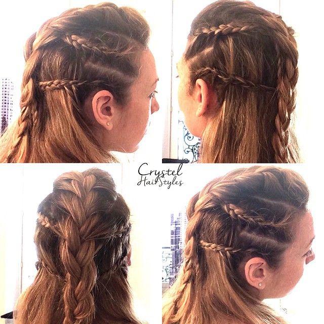 mohawk braids style longhair on Instagram