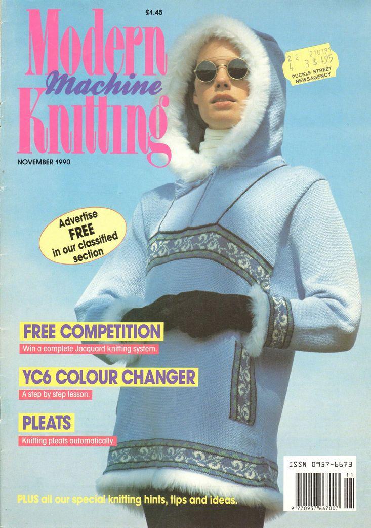 Modern Machine Knitting Magazine 1990.11 Free PDF Download 300dpi ClearScan OCR