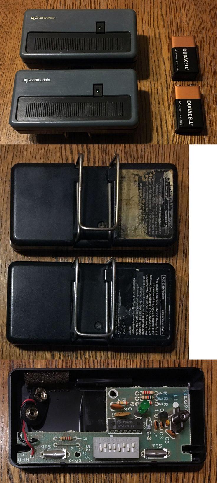 Garage Door Remotes 85899: Chamberlain Garage Door Opener Remotes X2 132A1795 -> BUY IT NOW ONLY: $30 on eBay!