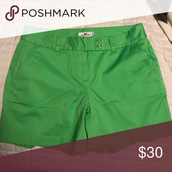 Vineyard vines size 2 lime green shorts Vineyard vines size 2 lime green shorts Vineyard Vines Shorts