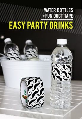 Home & Party Decor ideas. Surely, I can find duct tape with a baseball theme.