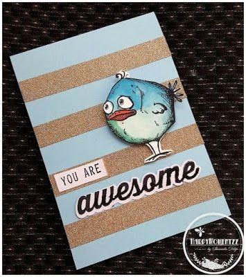 HappyMomentzz crafting by Sharada Dilip: Crazy Birds - Tim Holtz