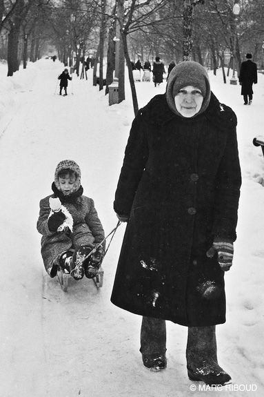Marc Riboud Moscow, 1960 RU53
