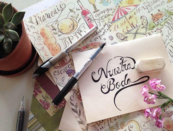 Cómo hacer letra cursiva para invitaciones ¡De lujo!