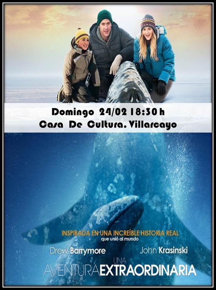 """#Villarcayo 24/02/2013 Cine """"Una aventura extraordinaria"""" 18:30h Casa de Cultura #Merindades"""