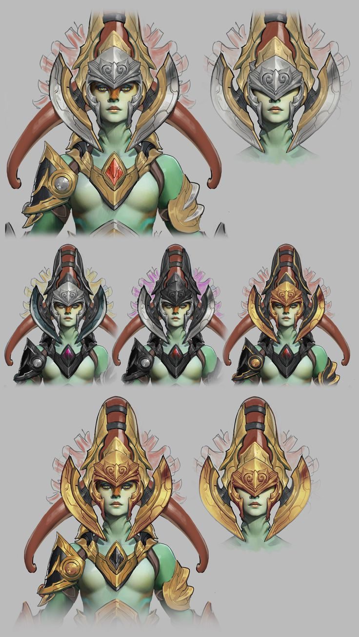 Pior Oberson character artist | Dota 2 Workshop