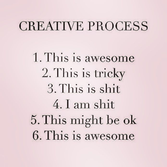 T R U T H .. stolen from the genius @shanenorrie_art  ... this is how it goes!