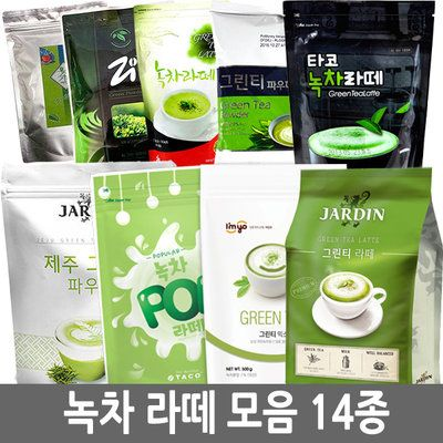 G마켓 - 녹차라떼모음/세미/그린티/쟈뎅/타코/삼원/녹차파우더