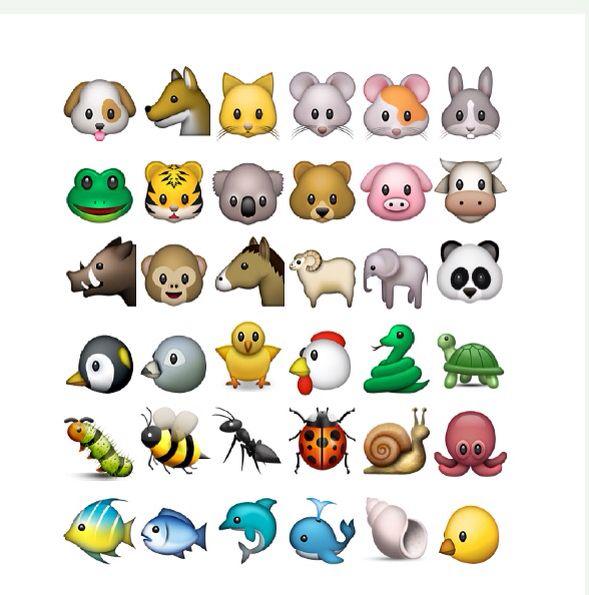 animals emoji wallpaper - photo #3