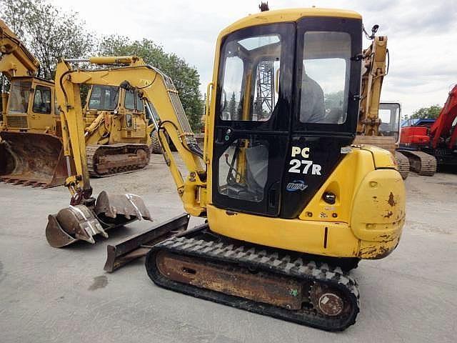 Komatsu Pc27mrx 1 Mini Excavator Service Repair Manual Sn 11574 Up Hydraulic Excavator Mini Excavator Komatsu
