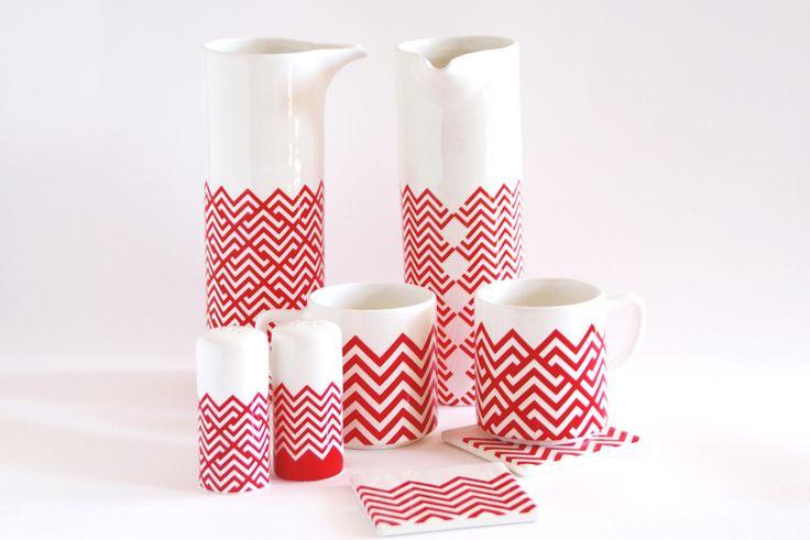 Familia de productos cocina cer mica hechos con for Productos para ceramica