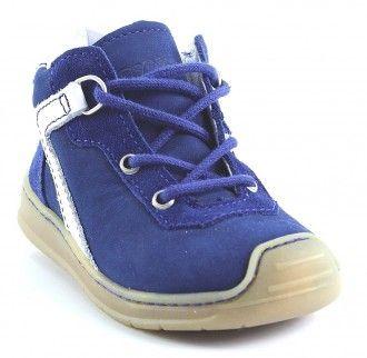 Pepino Ricosta Schnürschuh Casy blau/tinte  #kids #shoes #kidsshoes #pepino