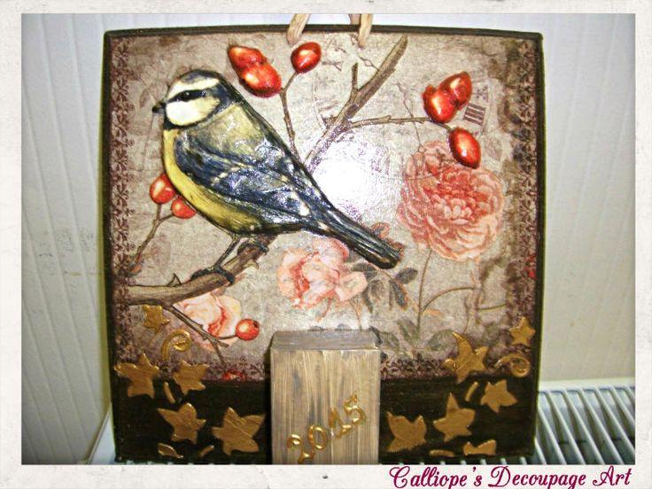Calliope's Decoupage Art   Ημερολόγια