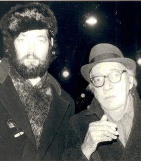Julio Cortázar y Juan Carlos Onetti