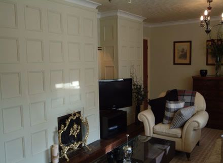 Living Room Feature Wall Ideas Mdf Panelling By Panels Uk Panelmaster