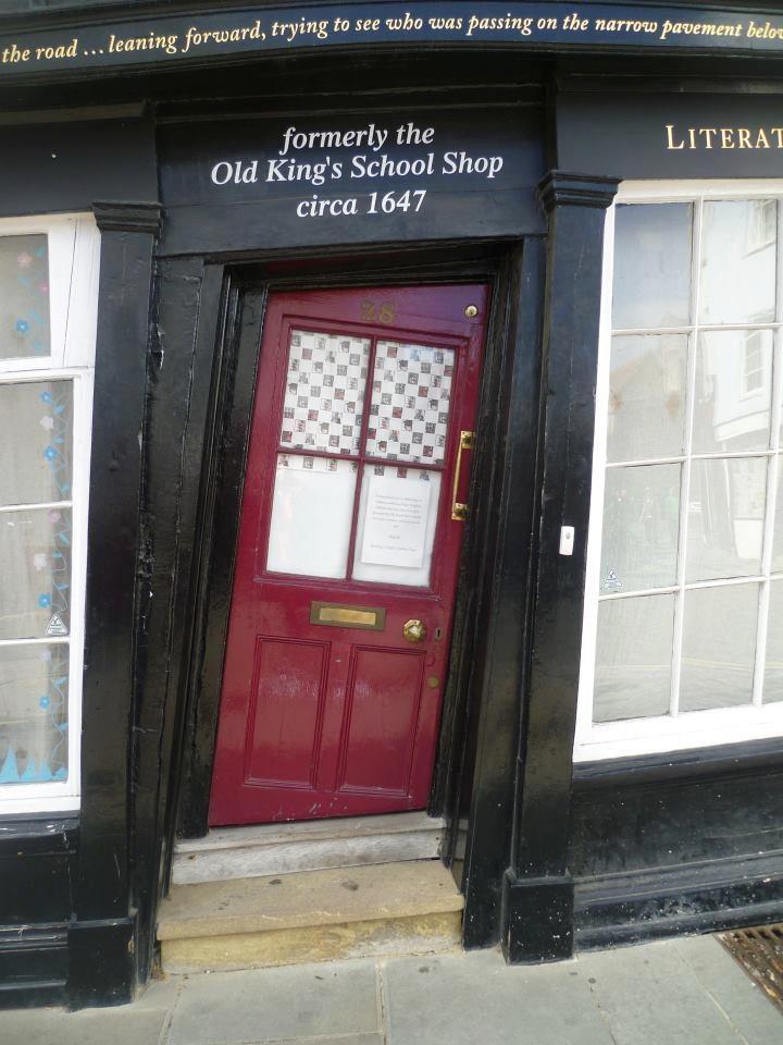 door : old king's schoolt shop