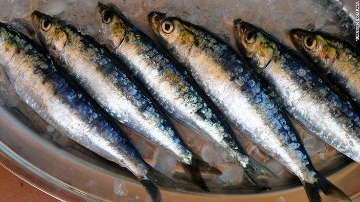 Fresh sardines abound in summer.